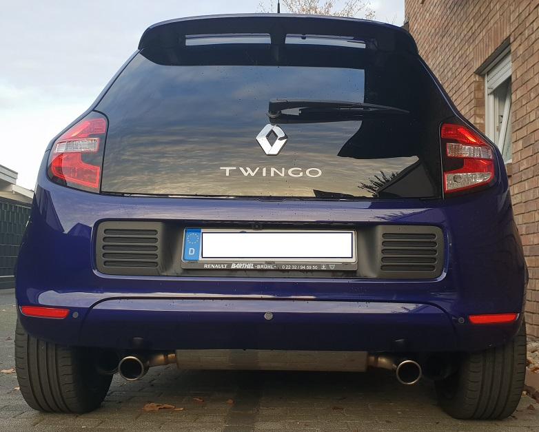 TCE90 COSMO EDC Ultraviolett Frisch auf'm Hof  ...Jetzt mit Bastuck Twin E...