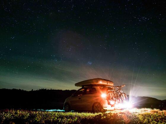 Unterm Sternenhimmel