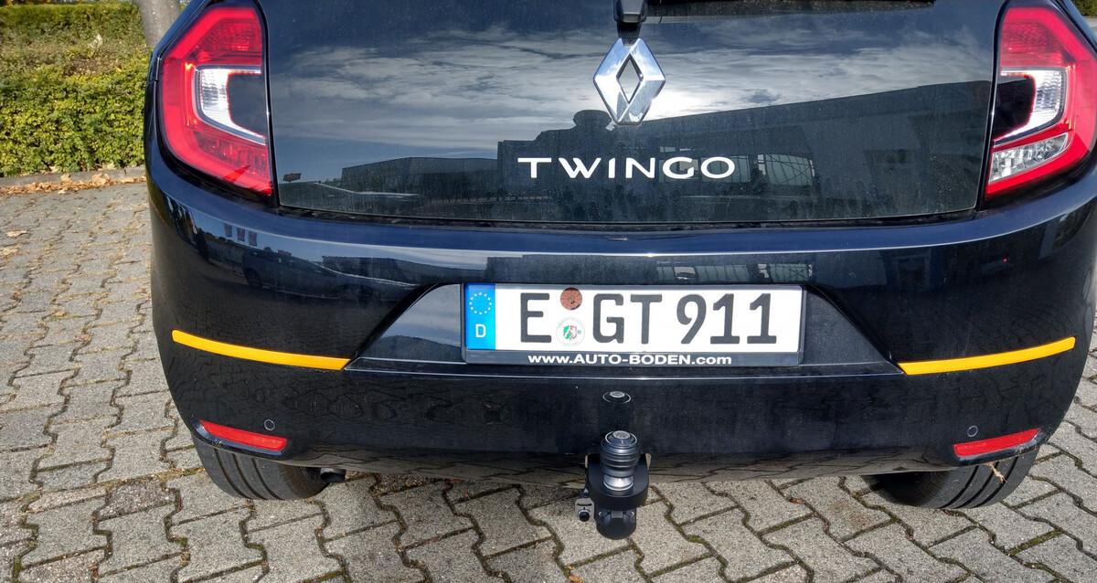 Twingo III Facelift mit AHK bis 750kg