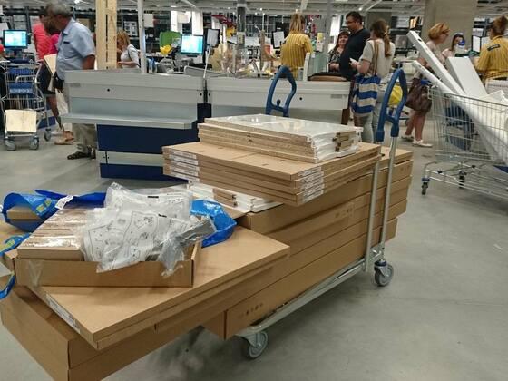 Was ich bei IKEA eingekauft ...